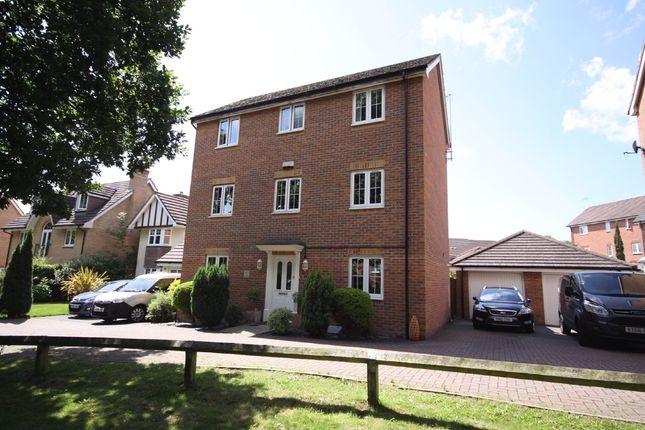 Thumbnail Detached house for sale in Coleridge Drive, Whiteley, Fareham