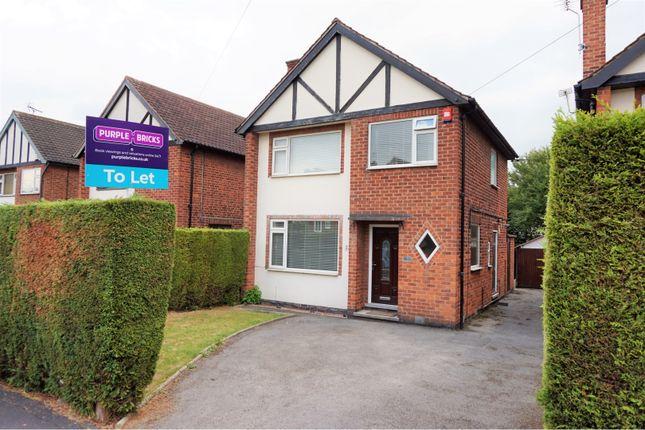 Thumbnail Detached house to rent in Lancaster Avenue, Nottingham