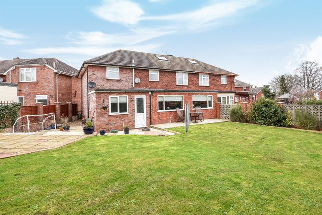 Thumbnail Semi-detached house for sale in 22 Langland Drive, Hereford