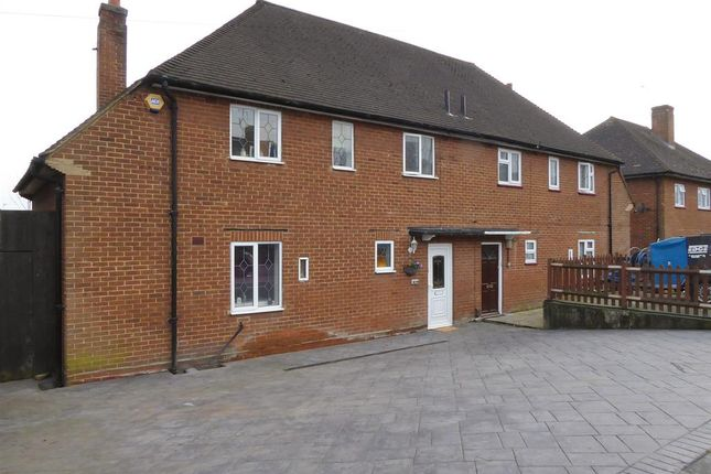 Thumbnail Semi-detached house for sale in Hall Place Crescent, Bexley, Kent