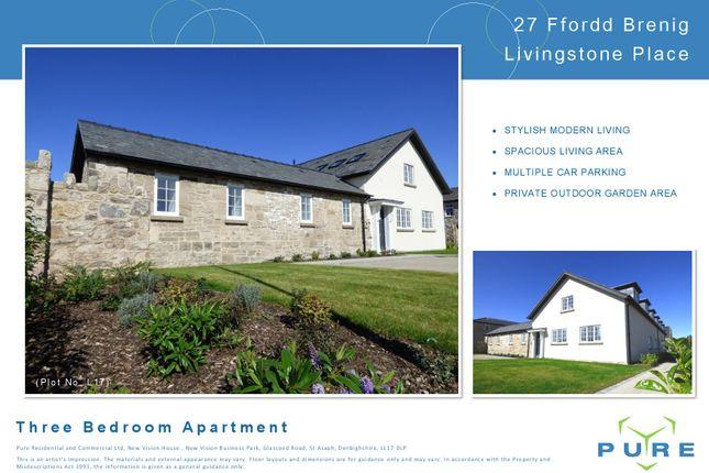 Thumbnail Flat for sale in Upper Denbigh Road, St. Asaph