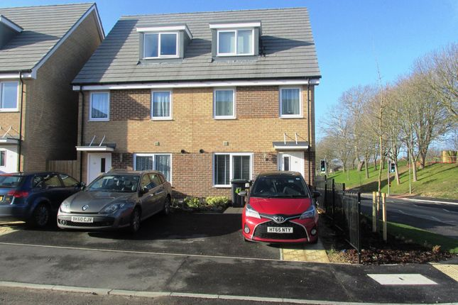 Thumbnail End terrace house for sale in Agin Court Avenue, Gosport, Hampshire