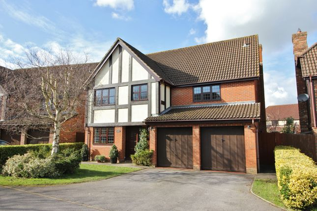 Thumbnail Detached house for sale in Billington Gardens, Hedge End, Southampton, Hampshire