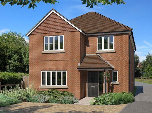 Thumbnail Detached house for sale in Plot 4 - Chazey House, Reading, Berkshire