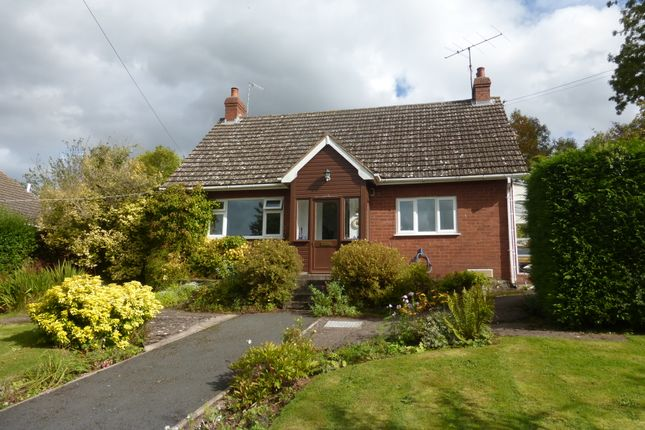 Thumbnail Detached bungalow for sale in Stockley Hill Road, Peterchurch, Hereford