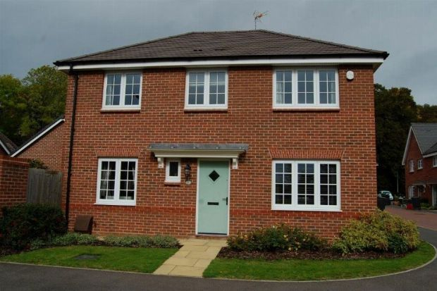 Thumbnail Detached house for sale in Navigation Way, Weedon, Northampton