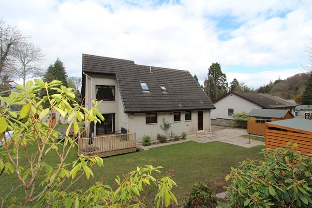 Rear Garden of Drummond Crescent, Inverness IV2