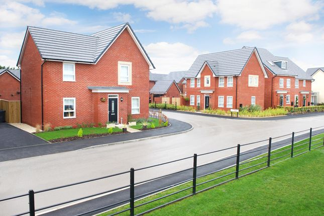 "Thumbnail Detached house for sale in ""Alderney"" at Texan Close, Warton, Preston"