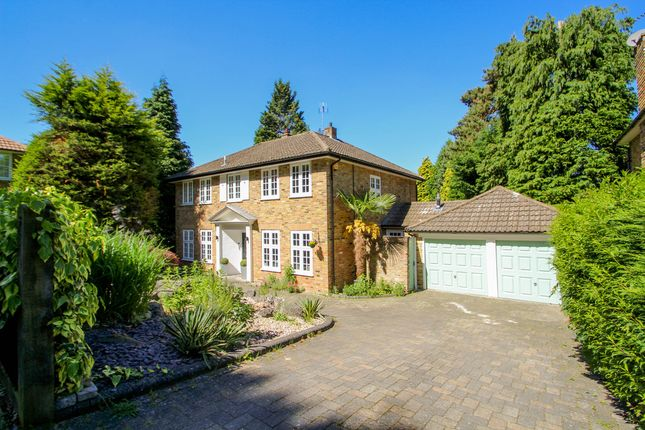 Thumbnail Detached house to rent in Branksome Close, Camberley