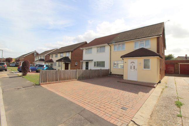 Thumbnail Semi-detached house for sale in Hannibal Road, Stanwell, Staines-Upon-Thames