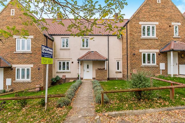 Thumbnail Terraced house for sale in Wakerley Close, Oundle, Peterborough