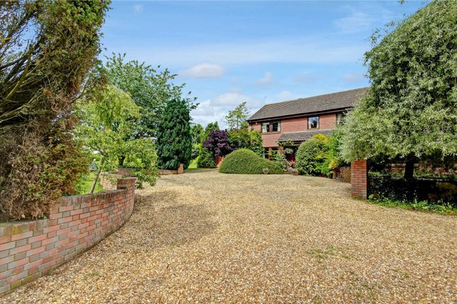 Thumbnail Detached house for sale in Maddle Road, Upper Lambourn, Hungerford, Berkshire