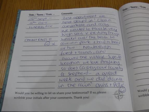 Visitor Comments of Bay View Apartments, Beach Road, Benllech, Anglesey LL74
