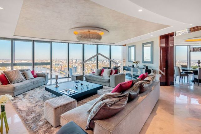 Thumbnail Flat for sale in The Tower, One St George Wharf, London