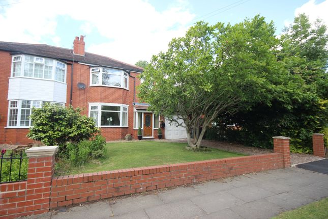 Thumbnail Semi-detached house for sale in Edge Fold Road, Walkden, Manchester