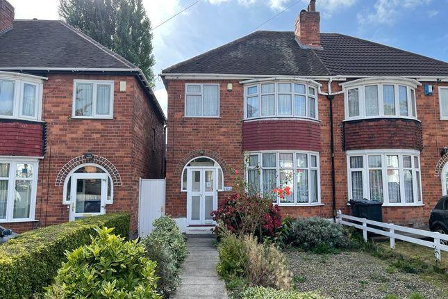 3 bed semi-detached house for sale in David Road, Handsworth, Birmingham B20