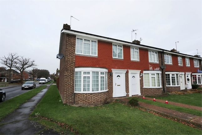 Thumbnail End terrace house to rent in Lynholm Road, Polegate, East Sussex