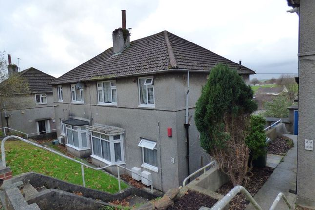 Thumbnail Flat to rent in Hawkinge Gardens, Plymouth, Devon