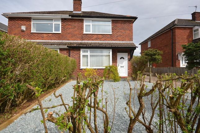 Thumbnail Semi-detached house to rent in Rolt Crescent, Middlewich, Cheshire