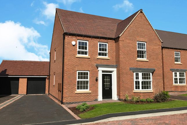 "Thumbnail Detached house for sale in ""Holden"" at Beggars Lane, Leicester Forest East, Leicester"