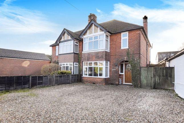 Thumbnail Semi-detached house for sale in Sherfield Road, Bramley, Tadley