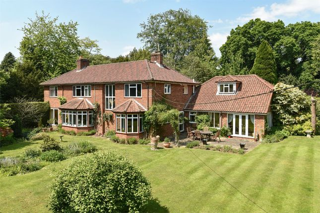 Thumbnail Detached house for sale in Southdown Road, Shawford, Winchester, Hampshire
