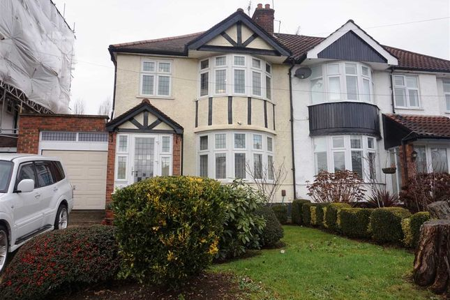 Thumbnail Semi-detached house to rent in Birchen Grove, Kingsbury, London