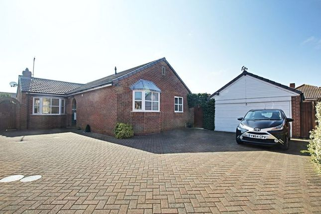 Thumbnail Detached bungalow for sale in Chaytor Close, Hedon, Hull