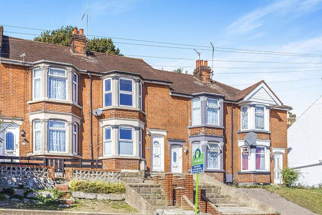Thumbnail Terraced house to rent in Mount Road, Chatham