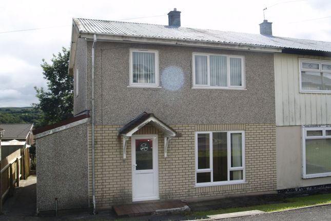 Thumbnail Semi-detached house to rent in Bryncelyn, Nelson, Treharris