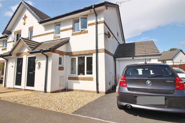 Thumbnail Semi-detached house to rent in Benson Drive, Northam, Bideford