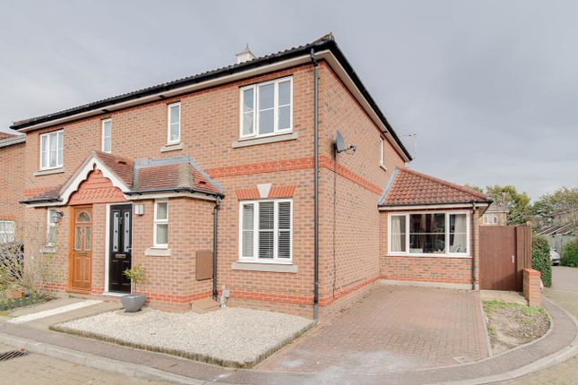 Thumbnail Semi-detached house for sale in Domitian Close, Colchester