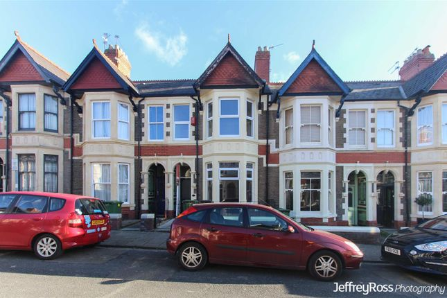 Thumbnail Terraced house to rent in Mafeking Road, Penylan, Cardiff
