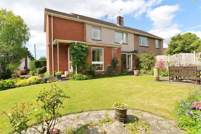 Thumbnail Semi-detached house for sale in Station Approach, Caerleon, Newport