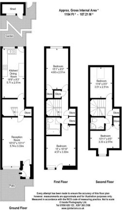 Thumbnail Terraced house to rent in Kings Cross, London