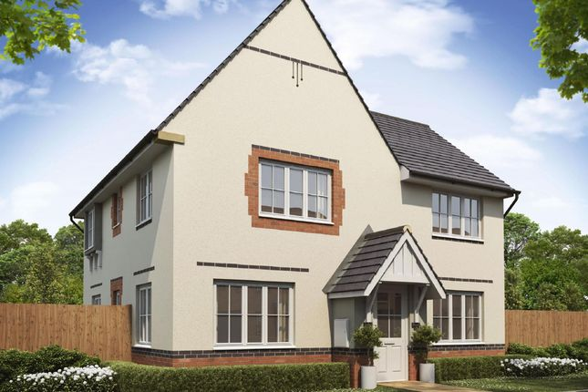 """Thumbnail Detached house for sale in """"Lincoln"""" at Birmingham Road, Bromsgrove"""