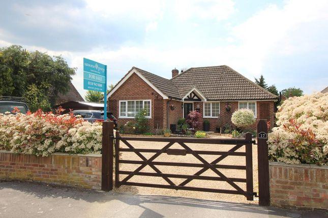 Thumbnail Detached bungalow for sale in Orchard Close, Tilehurst, Reading