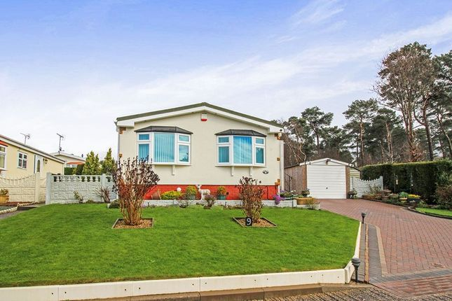 Thumbnail Bungalow for sale in The Pines Homes Park, Huntington, Cannock