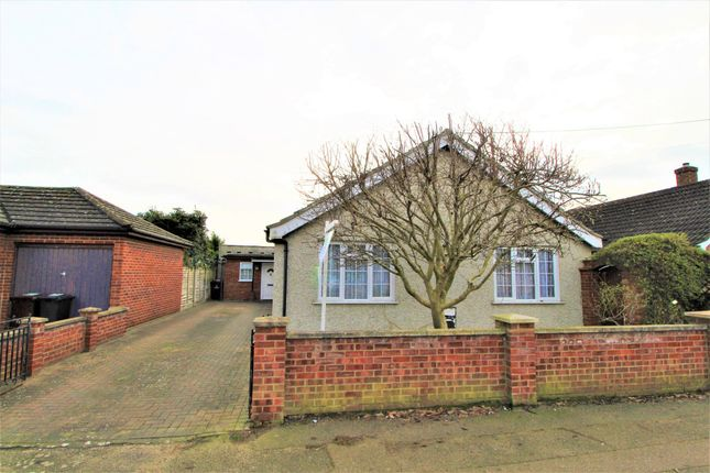Thumbnail Detached bungalow for sale in Villa Road, Stanway, Colchester