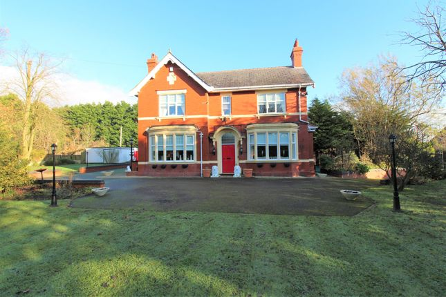 Thumbnail Detached house for sale in Crookdale House Mill Lane, Stalmine