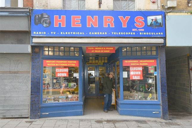 Commercial property for sale in High Street, Margate, Kent