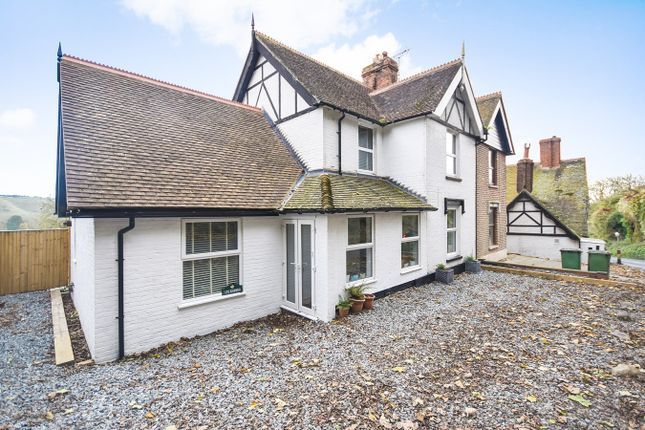 Thumbnail Semi-detached house for sale in Beachborough, Newington, Folkestone