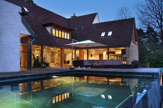 Thumbnail Detached house to rent in Fireball Hill, Sunningdale, Berkshire
