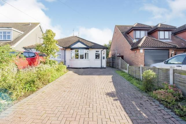 Thumbnail Bungalow for sale in Collier Row, Romford, Havering