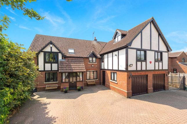 Thumbnail Detached house for sale in Sleaford Road, Heckington, Sleaford, Lincolnshire