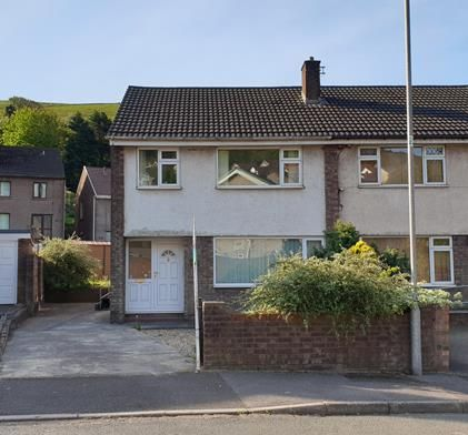 Semi-detached house to rent in Wildbrook, Taibach, Port Talbot