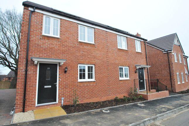 Thumbnail Semi-detached house for sale in Plot 20 Brockeridge Paddocks, Twyning