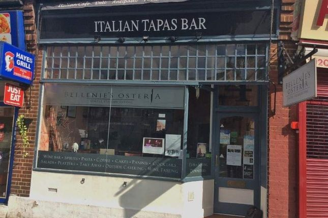 Thumbnail Restaurant/cafe for sale in 4 Bourne Way, Bromley