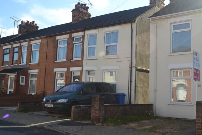 Thumbnail End terrace house to rent in Henslow Road, Ipswich