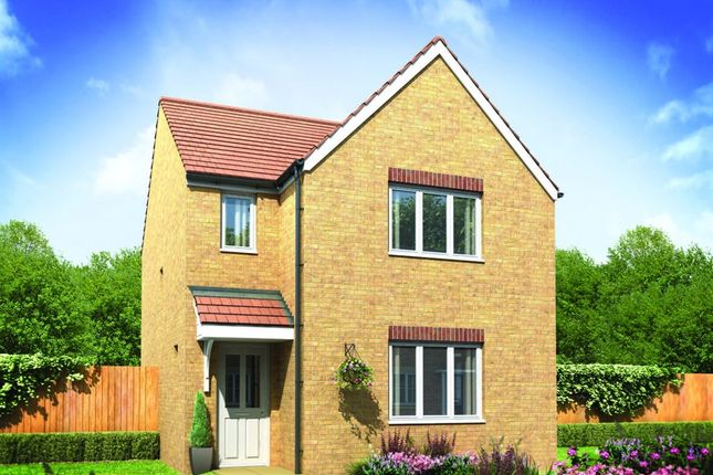 "Thumbnail Detached house for sale in ""The Hatfield"" at Derwen View, Brackla, Bridgend"